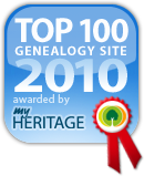Top genealogy site awards