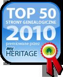 Wyróżnienie dla najlepszych stron genealogicznych